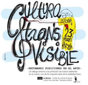 Cartel Cultura Trans Visible 23-03-2013